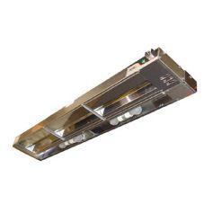"APW Wyott FDL-24H-T 24"" Single Calrod Heat Lamp w/ Toggle Control"