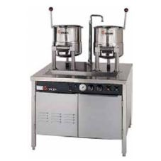 Groen 2-CTDC/3-20-SM (2) Direct Steam 20-Qt Tilting Kettles (142837)