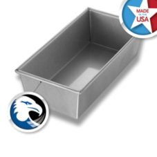 Chicago Metallic 49110 Aluminized Steel #91S Bread Pan - 12 / CS