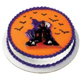 Bakery Crafts® H-328 Haunted House Pop Top® - 24 / BX