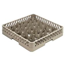 Vollrath TR11G-08 Traex 20 Compartment Yellow 1 Extender Glass Rack