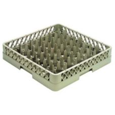 Vollrath TR12A Traex Beige 30 Comp. Glass Rack with 1 Open Extender