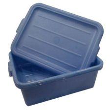 Vollrath 1505-C04 Traex Blue Food Storage Box with Drain Box Insert
