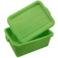Traex® 1505-C19 Green Food Storage Box with Drain Box Insert