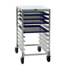 New Age Industrial 92096 Aluminum Half Size Height Mobile Pan Rack
