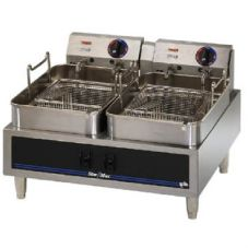 Star® Mfg Star-Max® CSA Counter Elec. 30 LB. Twin Pot Fryer