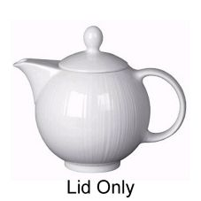 Steelite Distinction Spyro White Lid for 12 Oz Teapot