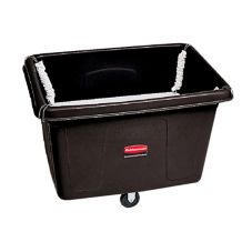 Rubbermaid® FG461100BLA Black 14 cu ft Spring Platform Truck