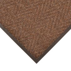 NoTrax 4459-118 Chevron 3' x 5' Dark Brown Indoor / Outdoor Floor Mat