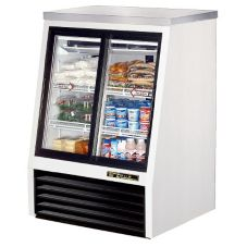 True® Pass-Thru 11.8 Cu Ft Deli Case w/ 2-Front and 2-Rear Doors
