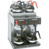 BUNN® 23400.0011 CWTF Automatic Coffee Brewer with 4U / 2L Warmers