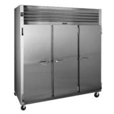 Traulsen G31300 G-Series Solid Door 3-Section Reach-In Freezer
