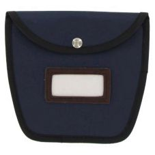 Block & Company Navy Pockets Divided Change Bag