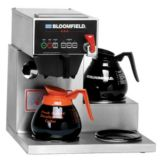 Bloomfield 1072D3F E.B.C.™ 3-Warmer Stepped Right Coffee Brewer