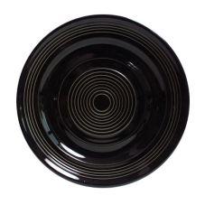 "Tuxton® CBA-074 Concentrix® 7.5"" Black Plate - 24 / CS"