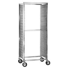 CresCor Wide Opening Mobile Tray Rack