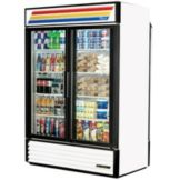 True GDM-49RL Glass Slide Door 49 Cu Ft Rear Load Refrigerator