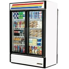 True GDM-49RL-LD Glass Slide Door 49 Cu Ft Rear Load Refrigerator