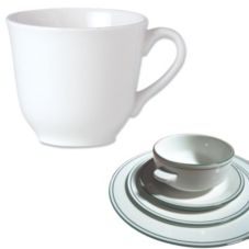 Steelite 13150216 Simplicity Laguna 7 Oz. Tall Cup - 36 / CS