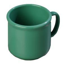 Carlisle 4305209 Stackable 10 Oz. Meadow Green Coffee Mug - 12 / CS