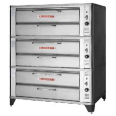 "Blodgett 900 Series Gas Baking / Roasting Triple Deck Oven, 7"" H"