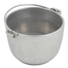 Bon Chef 3006 Pewter Aluminum 1.5 Qt Soup Tureen with Bail Handle