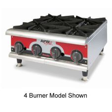 APW Wyott GHP-6I Champion Gas (6) 30000 BTU Burner Hot Plate
