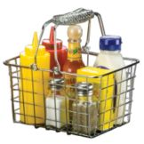 American Metalcraft RBHC759 Chrome Wire Basket w/ Double Handle