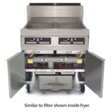 Dean® 100UFF2 Super Cascade Built-In 2-Fryer 100 Lb Cap. Filter