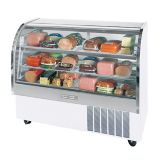"Beverage-Air Marketeer® 61"" White Refrigerated Display Case"