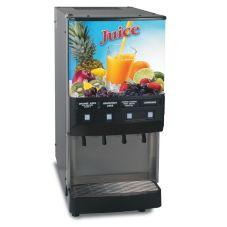 BUNN 37300.0002 4-Flavor Gourmet Cold Beverage System with Cold Water