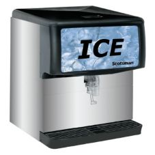 Scotsman® ID200B-1A S/S Counter 200 Lb Capacity Ice Only Dispenser