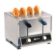 Star® Mfg Four-Slot Pop-Up Bread / Bagel Toaster w/ Timer