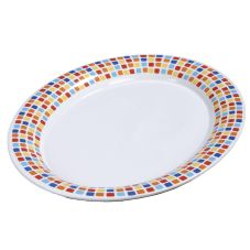 Carlisle® Palette Displayware™ Spanish Tile Oval Platter