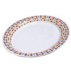 Carlisle® 44411917 Palette Displayware Spanish Tile Oval Platter