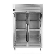 Traulsen RHT232NPUT-HHG R-Series 2-Section Pass-Thru Refrigerator