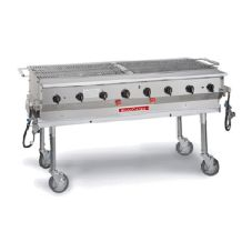 "Magikitch'n MagiCater Transportable Outdoor 60"" Gas Grill"