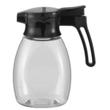 Service Ideas Plastic 10 Oz Blueberry Syrup Dispenser