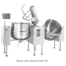 Cleveland Range MKDL-100-T Twin Sweep and Fold 100 Gal. Kettle-Mixer