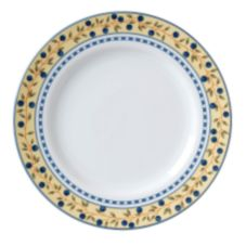 Vertex® China AL-21-BB Alpine Blueberry Plate - 12 / CS