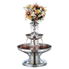 Buffet Enhancement 4 Gal SS Champagne Fountain W/Silver Trim