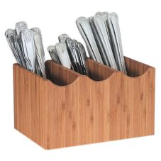 Cal-Mil 1244 Bamboo Utensil Holder