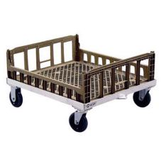 "New Age NS926 26-3/4 x 31-1/4"" Crisping Basket Dolly with Casters"