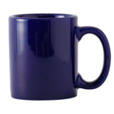 Tuxton® BCM-1202 12 Oz. Cobalt C-Handle Mug - 24 / CS