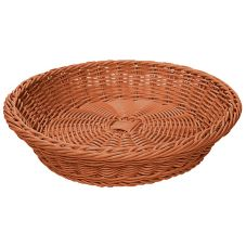 "G.E.T. Honey 11-1/2"" Round Designer PolyWeave Basket ™"