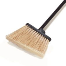 Carlisle Foodservice Medium Duty Duo-Sweep Angled Broom Head