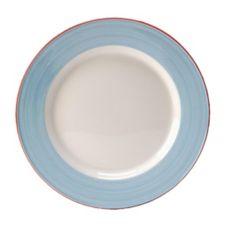 "Steelite 15310336 Rio Blue 10-5/8"" Service / Chop Plate - 24 / CS"