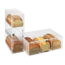 Cal-Mil 1204 Clear Acrylic 3-Tier Bread Case