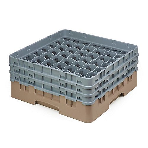 49 Compartment Glass Rack