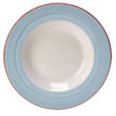 """Steelite 15310314 Simplicity Rio Blue 10.63"""" Pasta Dish - 12 / CS"""